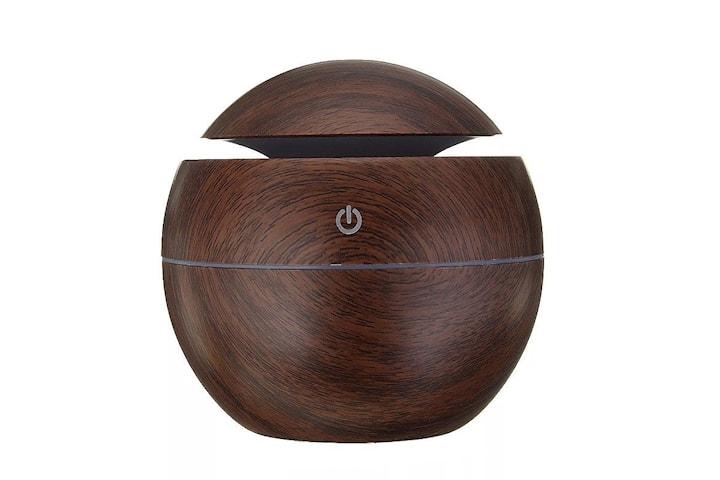Luftfuktare, Ultrasonic Aroma 006 - Mörkt trä