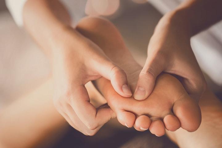 Vårdande fotmassage hos Centrum för Harmoni
