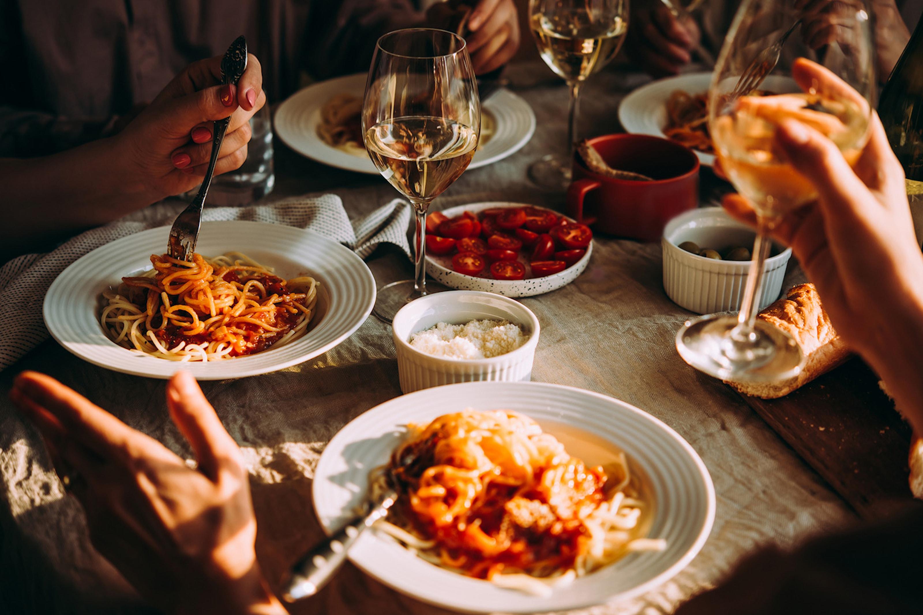 Italiensk 3-rättersmiddag