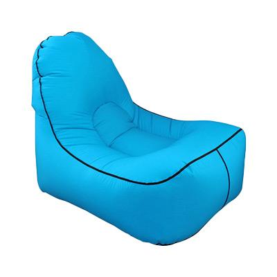 Blå, Air Sleeping Lazy Sofa, Oppblåsbar lenestol, ,  (1 av 1)
