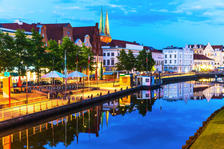 TT-Line: Tyskland for opptil 5 pers, inkl 1 bil