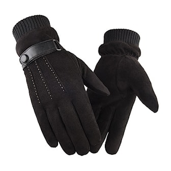 Svart, Men's touchscreen gloves, Touchscreen hansker til herre, ,