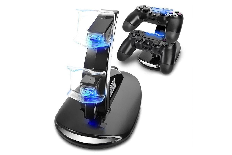 Ladestasjon kompatibel med PS4 kontroller
