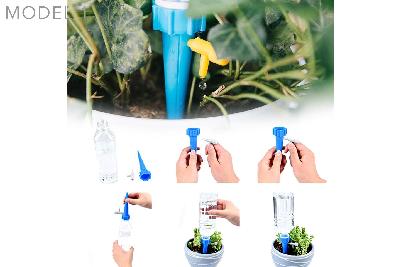 6-pack automatiskt bevattningssystem för växter