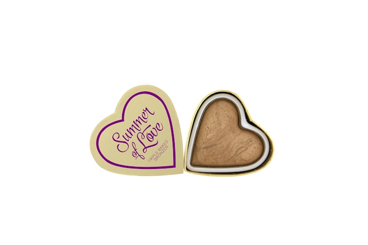 Makeup Revolution Blushing Hearts - Summer of Love Bronzer