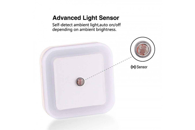 Mini LED-lampa med sensor 4-pack