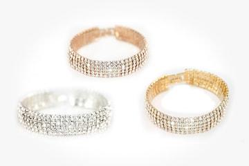 Pave armband med Swarovski-kristaller