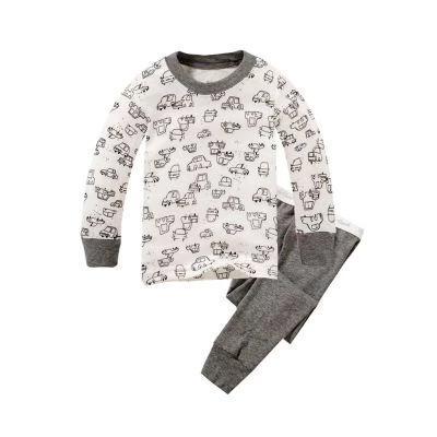 Plain Car, 3T, Colorful long sleeve set for kids, Pysjamas for barn, ,  (1 av 1)