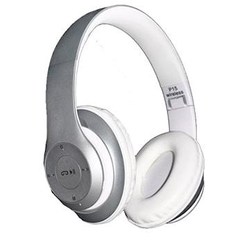 Silver, Bluetooth Wireless Headphones, Trådlösa Bluetooth-hörlurar, ,