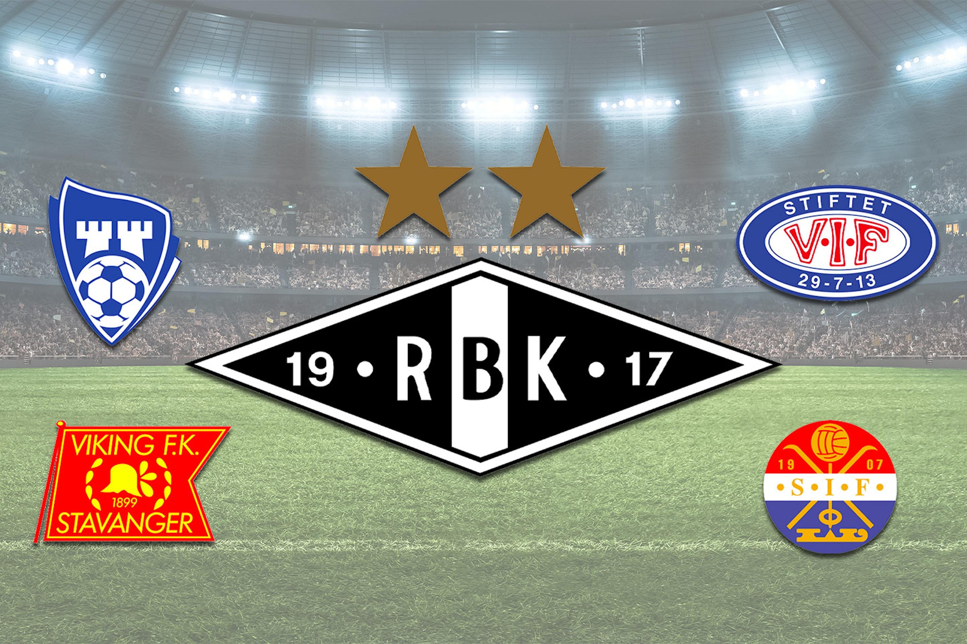 Rosenborgs hjemmekamper våren 2019