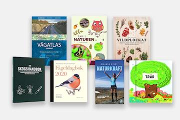 Böcker om natur och friluftsliv