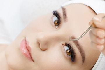 Ögonfransförlängning hos Beautylady