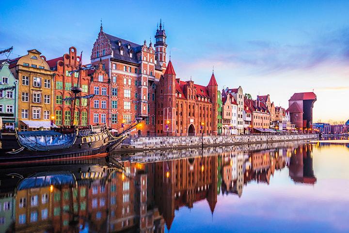 Gdansk 3 nätter inkl. direktflyg och boende