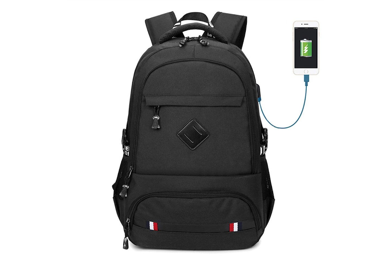 Ryggsäck med USB-port