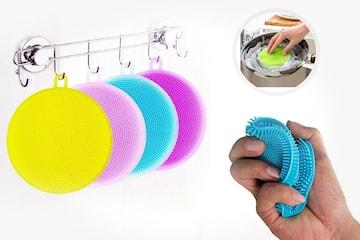 Multifunksjonell vaskebørste 2-pack