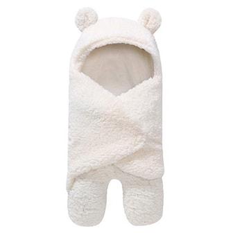 Hvit, Baby Sleeping Wrap Blanket, Babyteppe, ,