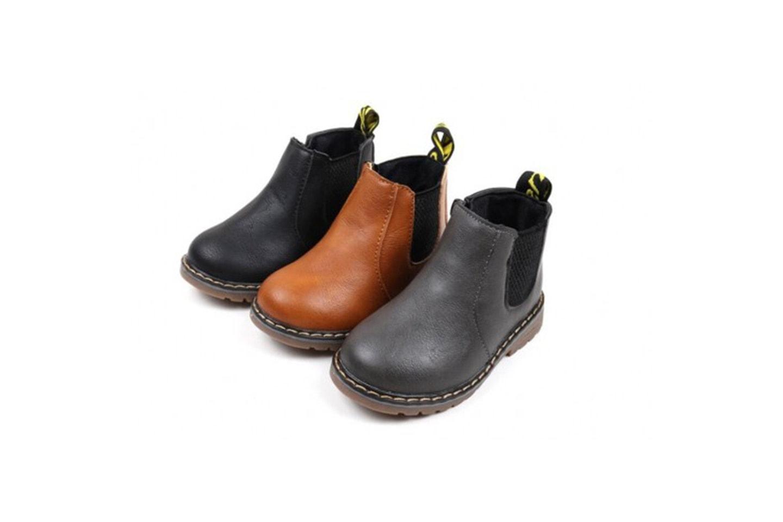 Varme vinterstøvler for barn