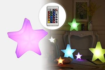 LED-lampa med 16 färger