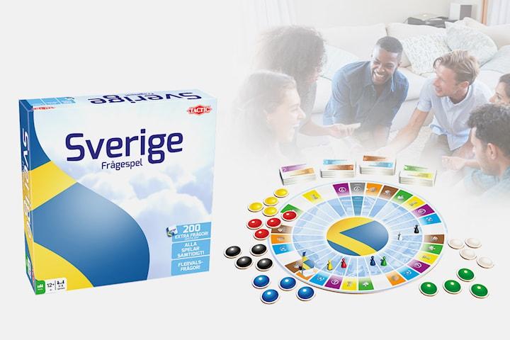 Tactic Sverige Frågespel