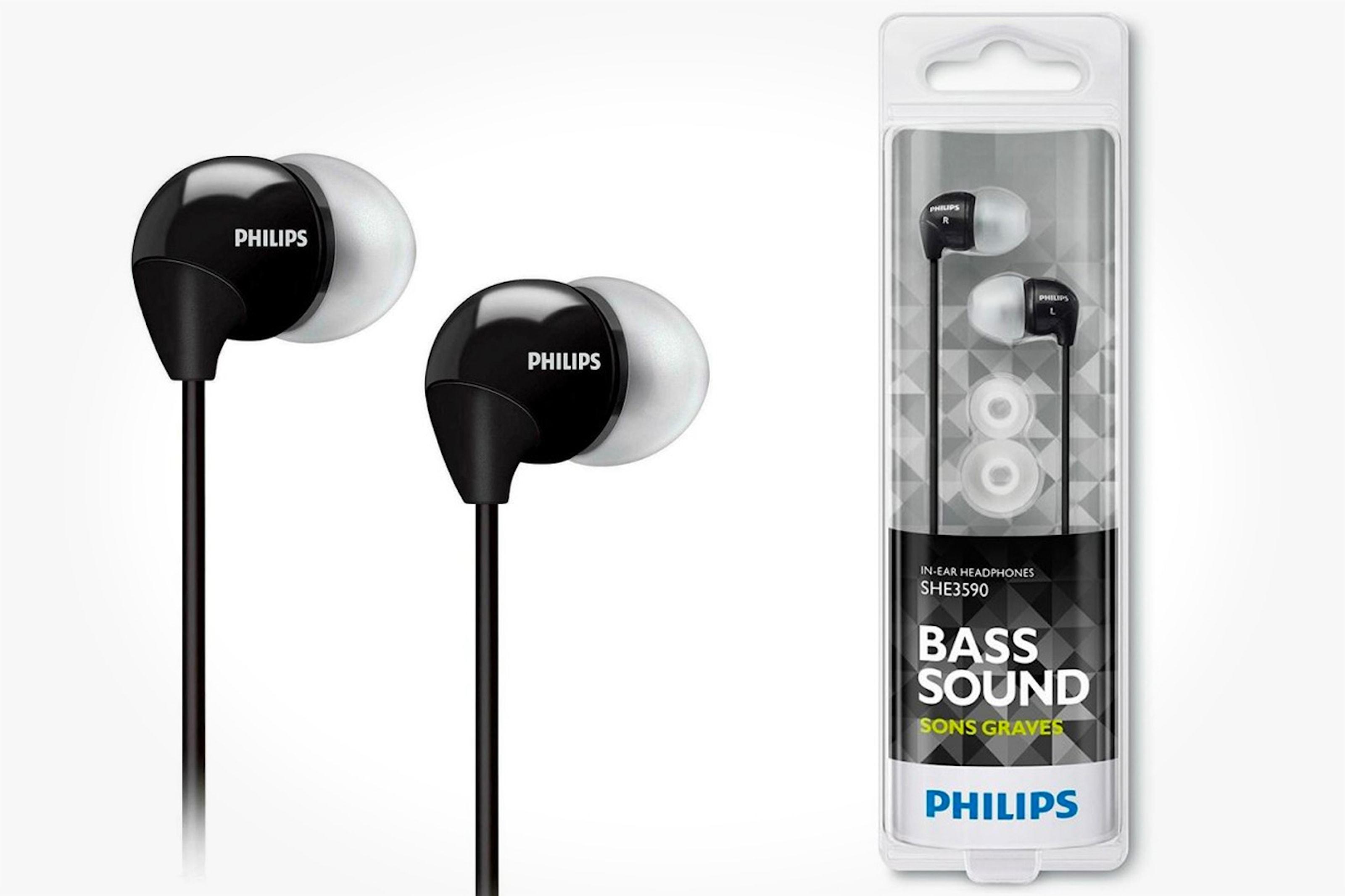 Klassiska in-ear hörlurar från Philips