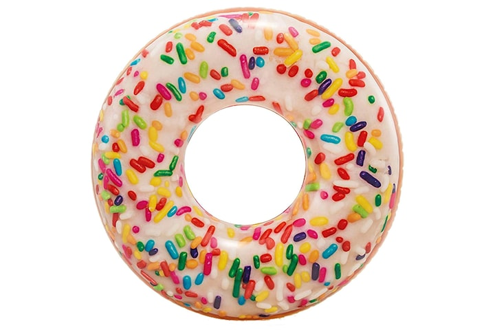 Oppblåsbar Badering, Intex - Donut