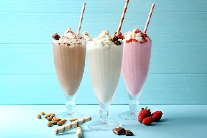 2 för 1, lyxig milkshake på Andra Lång