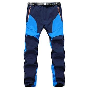 Blå, S, Outdoor Pants for Men, Utendørsbukser for herre, ,