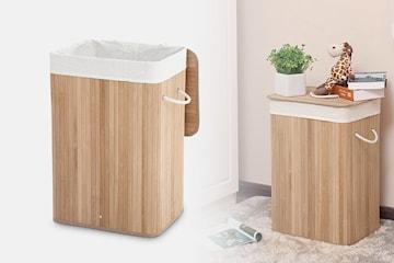 Tvättkorg i bambu