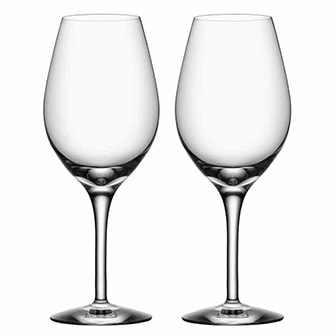 Wine, 2pcs More from Orrefors, 3models, 2-pack, Vinglas, ,