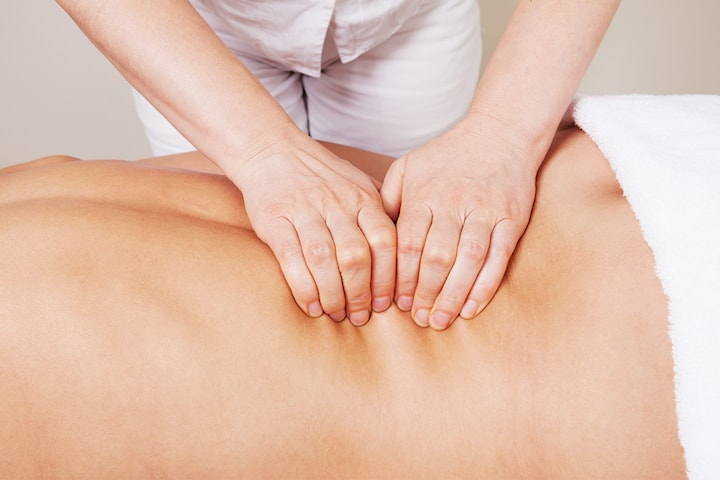 Viking- eller Dorsal Reflexology-massage