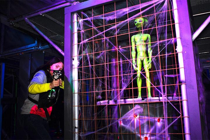 Laser Zone, Malmös nya laser tag-arena