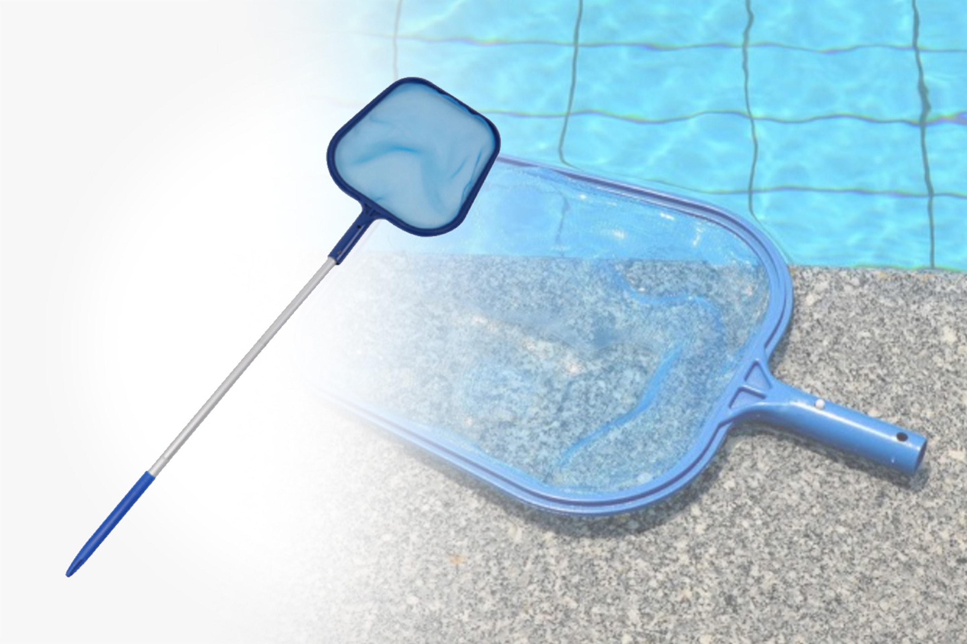 Rengöringsnät för simbassäng