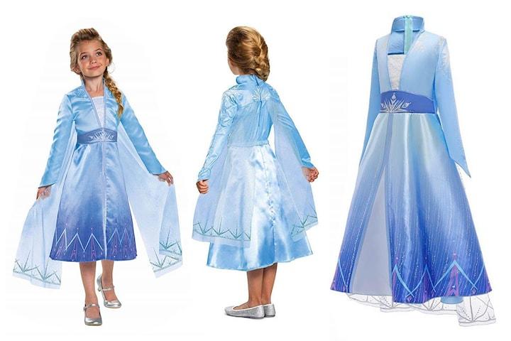 Langermet prinsessekjole