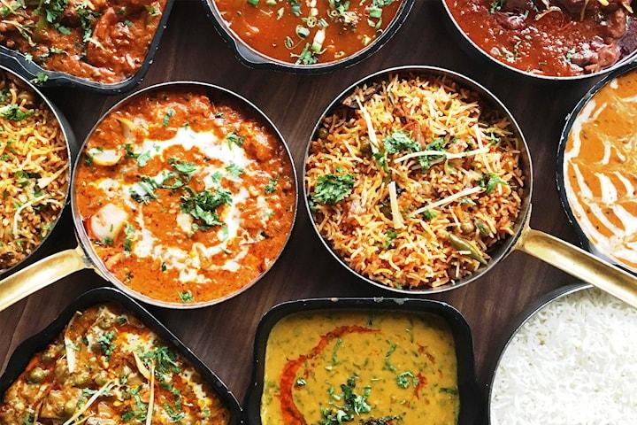 Middag inkl. naanbröd på Indian Lord