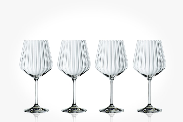 Optic Gin & Tonicglas 4-pack