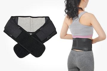 Justerbart ryggbälte med magneter