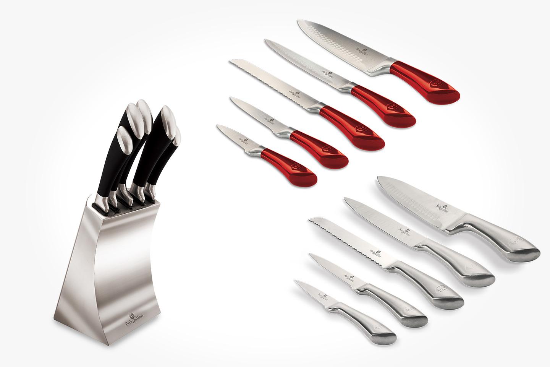 Berlinger Haus knivset 5 delar inkl. knivställ (1 av 4)