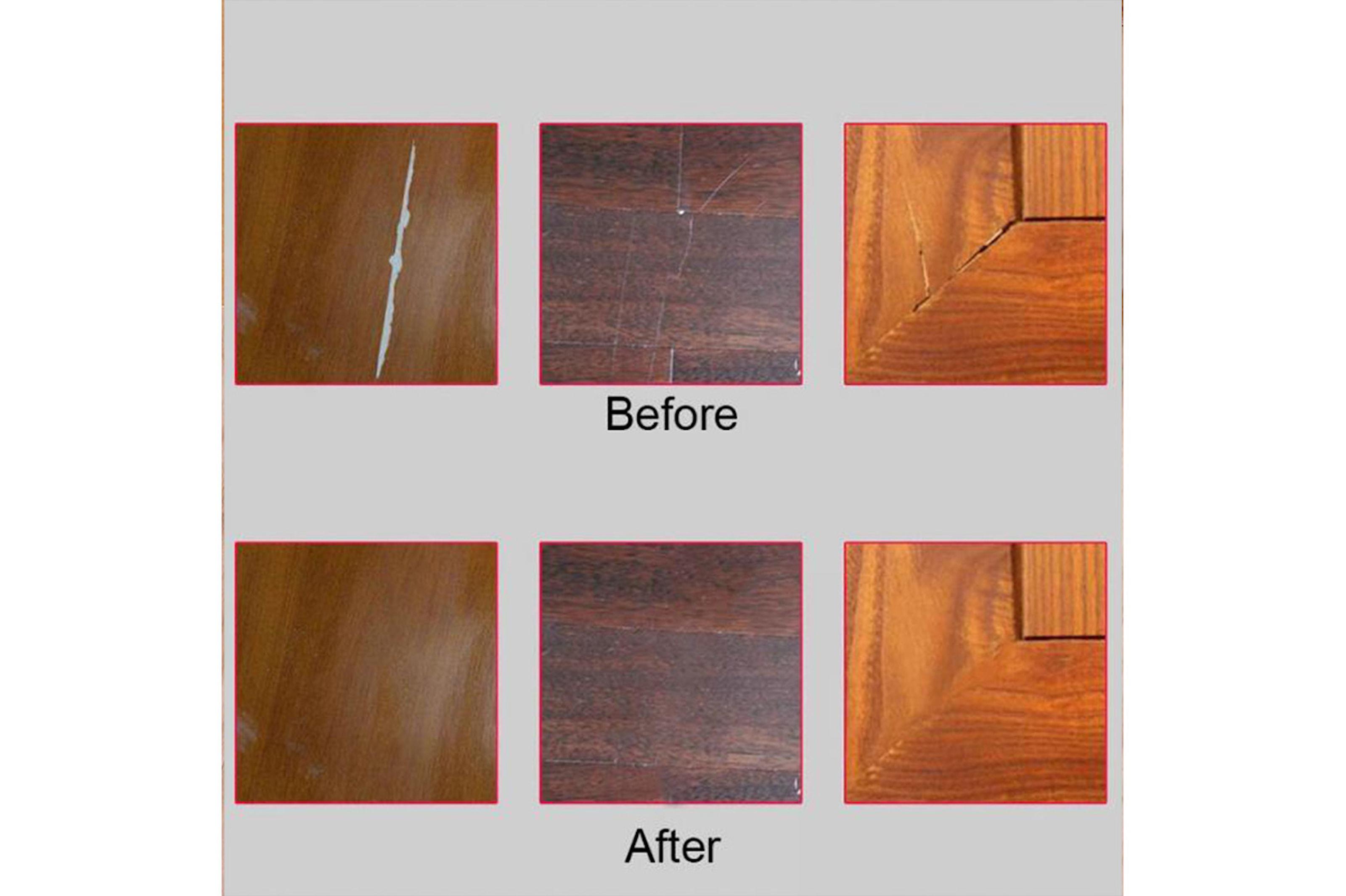 6-pack reparationspennor för möbler och golv