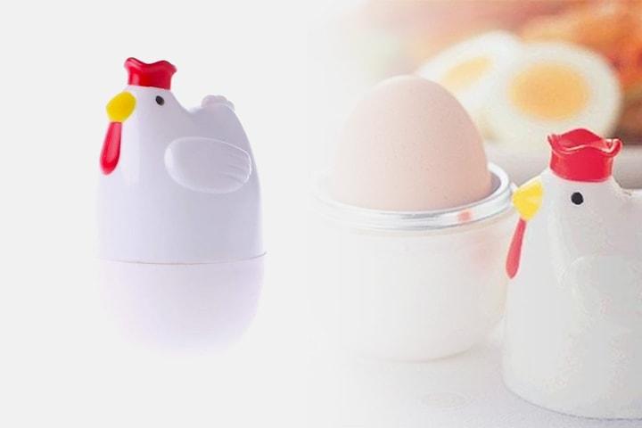 Eggkoker formet som en høne