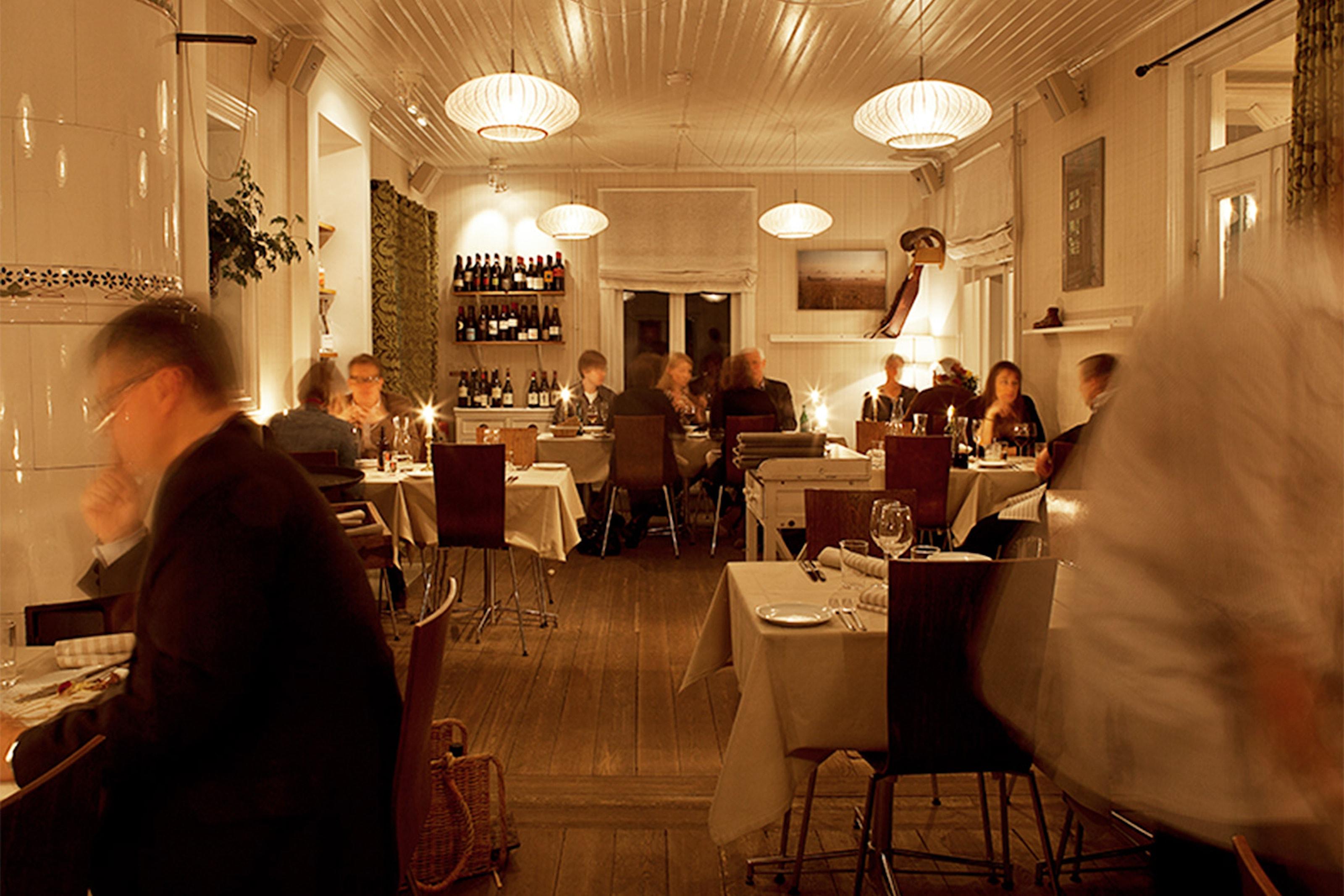 10 smaker i 4 serveringar på Bockholmen