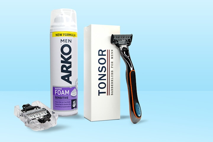 Tonsor barbering for menn - gratis startpakke! Betal kun for frakt