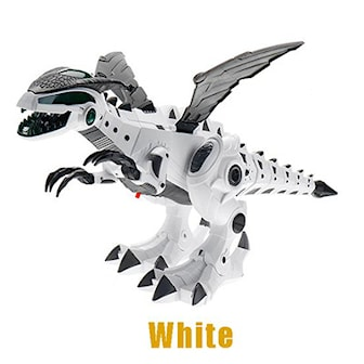 Hvit, Walking Action Dinosaur New Model, Multifunksjonell drageleke, ,