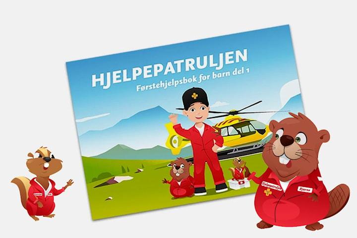 Hjelpepatruljen - Førstehjelpsbok for barn