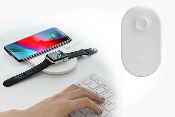 QI-laddare för mobil och klocka