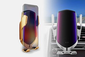 Trådløs mobillader til bilen