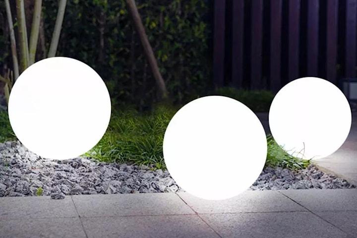LED-boll till trädgården