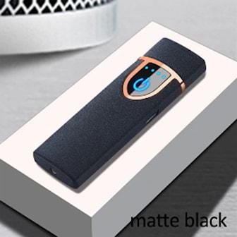 Matt svart, USB-Charger, 8 Colors, Stormlighter, ,