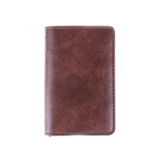 Sandbrun, Vintage Business Credit Card Holder, RFID-sikker kortholder, ,