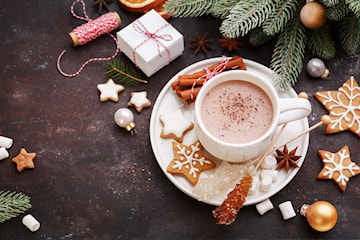 Kaffe, chai latte eller varm choklad