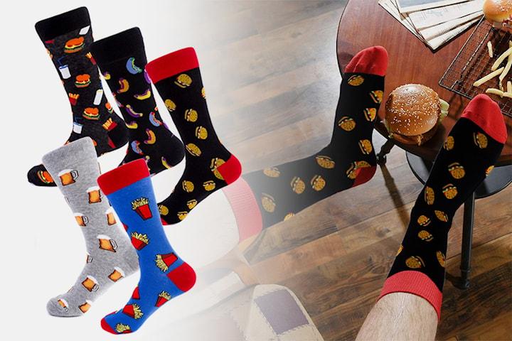 Morsomme sokker herre 2, 5 eller 10 par
